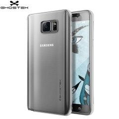 Ghostek Cloak Samsung Galaxy Note 5 Tough Case - Clear / Silver