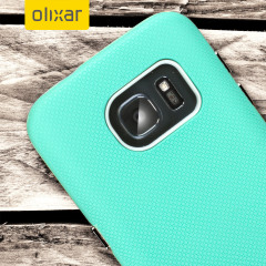 Olixar DuoMesh Samsung Galaxy S7 Case - Mint / Grey