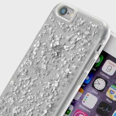 Prodigee Scene Treasure iPhone 6S / 6 Case - Silver Sparkle