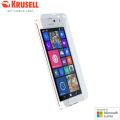 Krusell Nybro Lumia 650 Tempered Glas Displayschutz