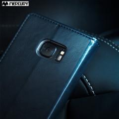 Mercury Blue Moon Samsung Galaxy S7 Wallet Case in Navy