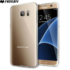 Mercury Jelly Samsung Galaxy S7 Edge Gel Case - Transparent