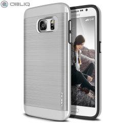 Obliq Slim Meta Samsung Galaxy S7 Case - Satin Silver
