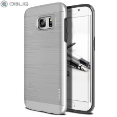Obliq Slim Meta Samsung Galaxy S7 Edge Case Hülle in Satin Silber