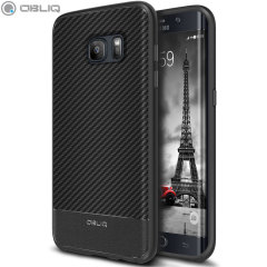 Obliq Flex Pro Samsung Galaxy S7 Edge Hülle in Schwarz