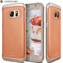 Caseology Envoy Series Galaxy S7 Case - Pink Leather