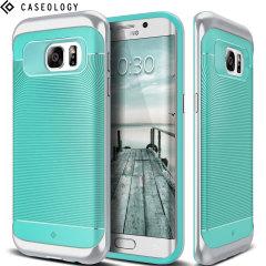 Caseology Wavelength Series Samsung Galaxy S7 Edge Hülle in Türkis