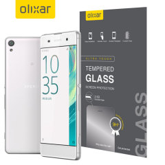 Olixar Sony Xperia XA Tempered Glass Screen Protector
