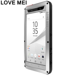 Love Mei Powerful Sony Xperia Z5 Premium Hülle in Silber