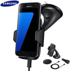 Samsung Galaxy S7 Qi Wireless Charging Car Holder - Black
