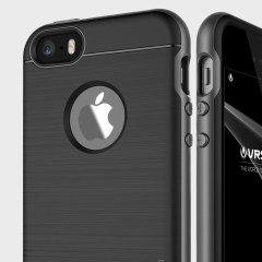 VRS Design High Pro Shield iPhone SE Case Hülle Titanium