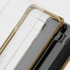 Ghostek Covert Samsung Galaxy S7 Bumper Case - Clear / Gold