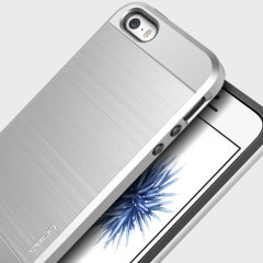 Obliq Slim Meta iPhone SE Case Hülle in Silber