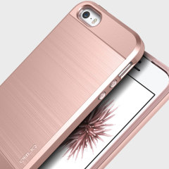 Obliq Slim Meta iPhone SE Case Hülle in Rosa Gold
