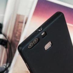 FlexiShield Huawei P9 Plus Gel Hülle in Solid Schwarz
