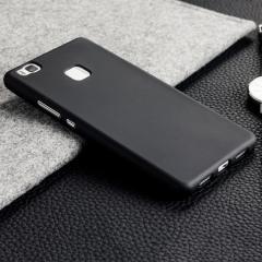 FlexiShield Huawei P9 Lite Gel Hülle in Solid Schwarz