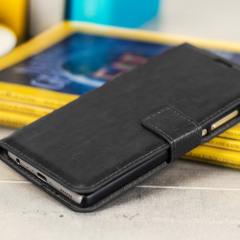 Olixar Wallet Huawei P9 Tasche in Schwarz