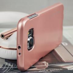 Mercury Goospery iJelly LG G5 Gel Case - Metallic Rose Gold