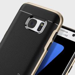 Spigen Neo Hybrid Samsung Galaxy S7 Hülle Case in Champagne Gold