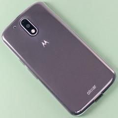 Olixar Ultra-Thin Moto G4 Gel Case - 100% Clear