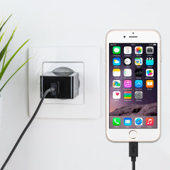 Olixar High Power 2.4A iPhone 6S/ 6S Plus / 6 / SE EU Ladegerät
