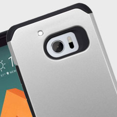 Zizo Slim Hybrid HTC 10 Tough Case - Black / Silver