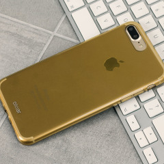 Olixar FlexiShield iPhone 8 Plus / 7 Plus Gel Case - Gold