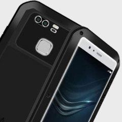 Love Mei Powerful Huawei P9 Plus Protective Case - Black