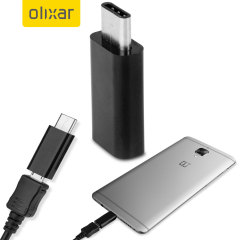 Olixar OnePlus 3T / 3 Micro USB To USB-C Adapter