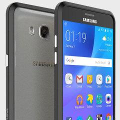 Luphie Blade Sword Samsung Galaxy J7 2016 Aluminium Bumper - Black
