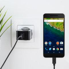 Olixar High Power 2.4A Google Nexus 6P EU Ladeadapter mit USB-C Kabel