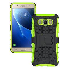 ArmourDillo Protective Samsung Galaxy J5 2016 Hülle in Grün / Schwarz