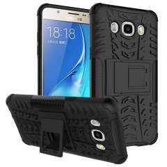 ArmourDillo Protective Samsung Galaxy J5 2016 Hülle in Schwarz