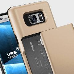 VRS Design Damda Glide Samsung Galaxy Note 7 Case - Shine Gold