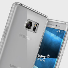 VRS Design Crystal Bumper Samsung Galaxy Note 7 Case - Light Silver