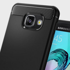 Spigen Rugged Armor Samsung Galaxy A3 2016 Hülle in Schwarz