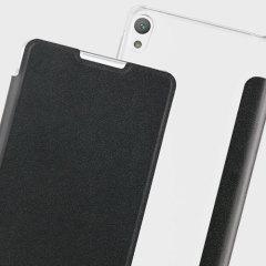 Roxfit Urban Book Sony Xperia E5 Slim Case Hülle in Schwarz