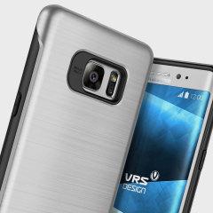 VRS Design Duo Guard Samsung Galaxy Note 7 Case - Satin Silver