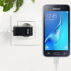 Olixar High Power 2.4A Samsung Galaxy J1 2016 EU Ladegerät