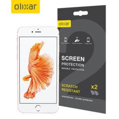 Olixar iPhone 7 Displayschutz 2-in-1 Pack
