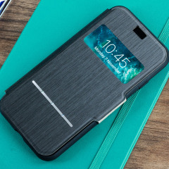 Moshi SenseCover iPhone 8 / 7 Smart Case - Charcoal Black