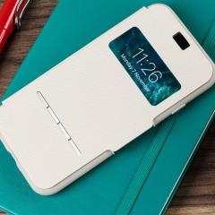 Moshi SenseCover iPhone 7 Smart Case in Stein Weiß