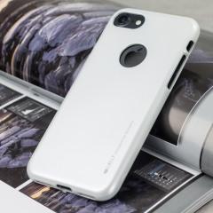 Mercury iJelly iPhone 8 / 7 Gel Case Hülle Silber