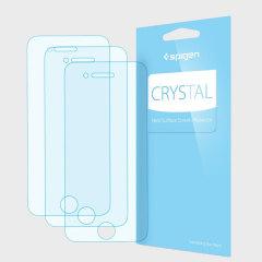 Spigen Crystal iPhone 7 Displayschutzfolie 3er Set