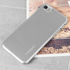 Spigen Thin Fit iPhone 7 Hülle Shell Case in Satin Silber