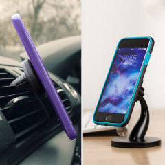 Olixar Magnetic Mount Car Holder & Desk Stand 2-in-1 Kit