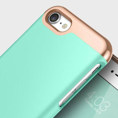 Caseology Savoy Series iPhone 7 Hülle Turquoise Mint