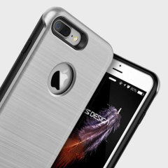 VRS Design Duo Guard iPhone 7 Plus Case Hülle in Satin Silber