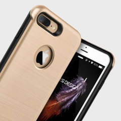 VRS Design Duo Guard iPhone 7 Plus Case Hülle in Champagne Gold