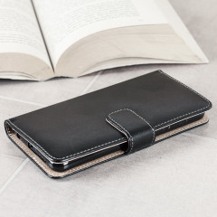 Olixar Huawei Honor 8 Wallet Tasche in Schwarz / Tan